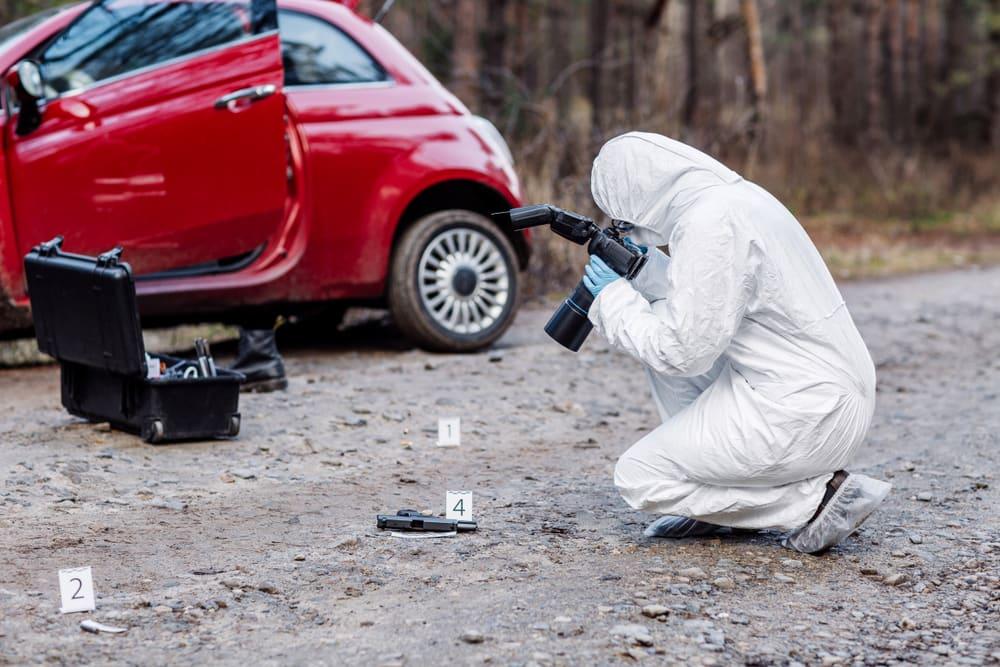 Crime scene reconstruction and crime scene processing